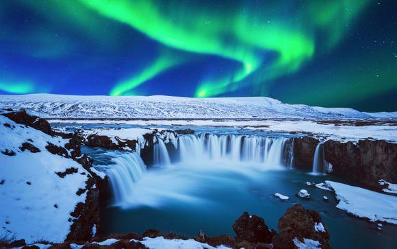 Soggiorno con escursioni Aurora Boreale e Golden Circle