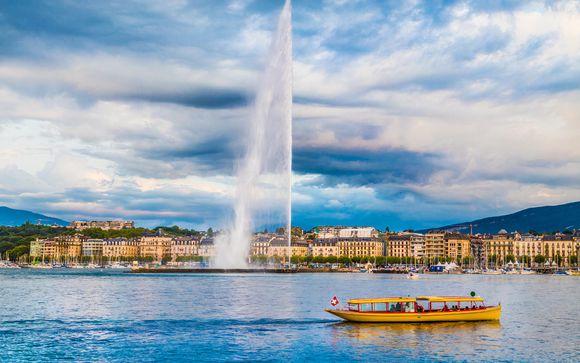4* sul bellissimo lago di Ginevra