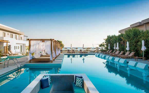 Charme e relax sotto il caldo sole della Grecia