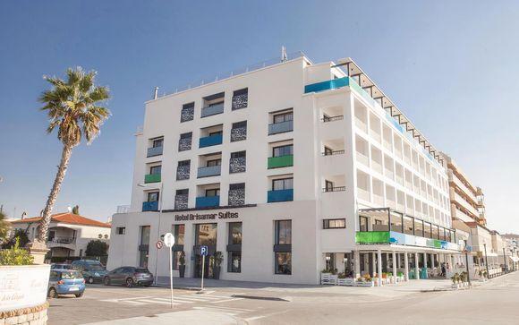 Hotel Brisamar Suites, en Comarruga