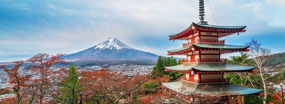 Reisen nach Japan